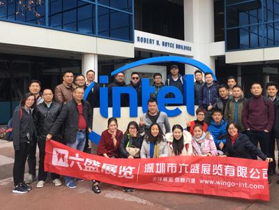 六盛CES团美国硅谷参观考察合影
