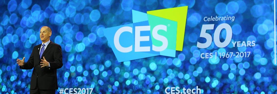 回顾分析CES2017展况,一起期待CES2018再创辉煌