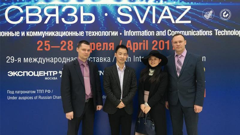 第30届俄罗斯通信和信息电子展SVIAZ ICT2018