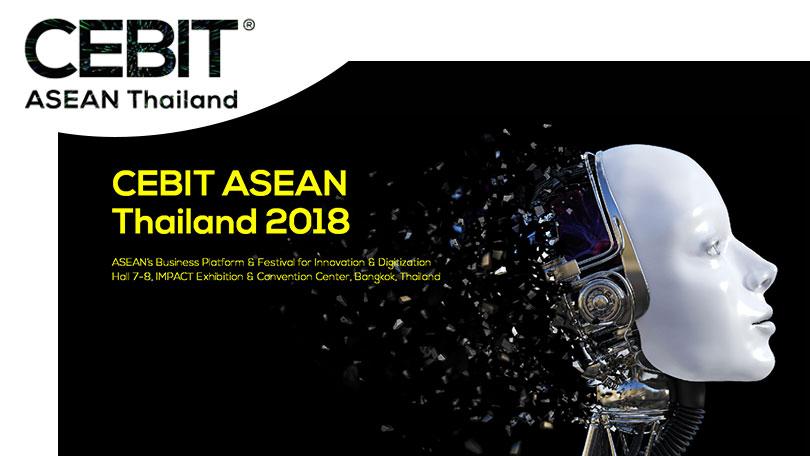 CEBIT ASEAN Thailand 2018/泰国东盟消费电子、信息及通信展